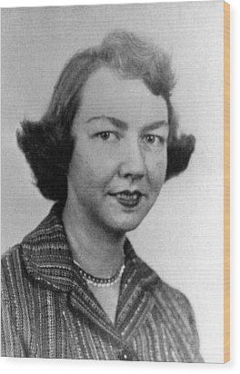 Flannery Oconnor, 1950s Wood Print by Everett