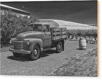 Flat Bed Chevrolet Truck Dsc05135 Wood Print