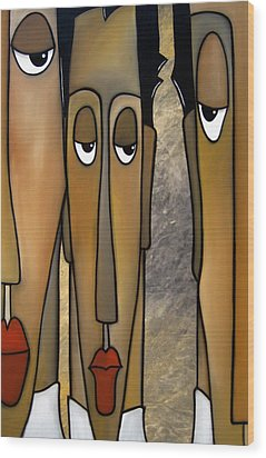 Flat Broke By Fidostudio Wood Print by Tom Fedro - Fidostudio