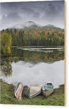 Flavor Of The Adirondacks Wood Print