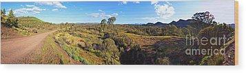 Flinders Ranges Wood Print by Bill Robinson