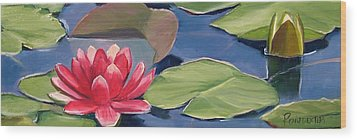 Float Wood Print by Dianna Poindexter