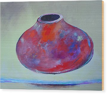 Floating Pot Wood Print