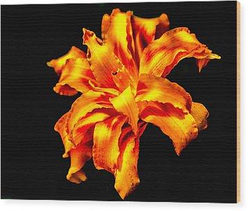 Flora Dance Wood Print