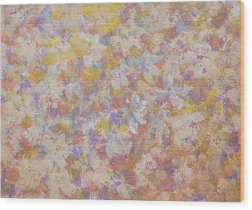 Flora' Romantica Wood Print
