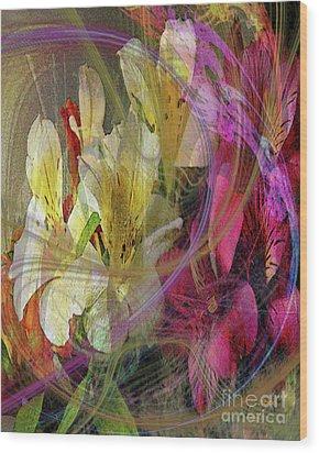 Floral Inspiration Wood Print by John Beck