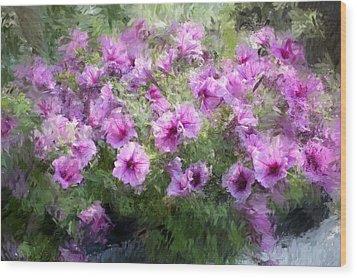 Floral Study 053010 Wood Print by David Lane