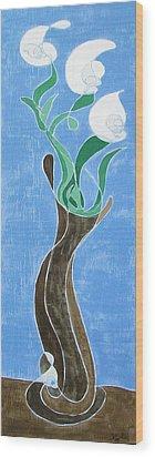 Floral Xxiii Wood Print