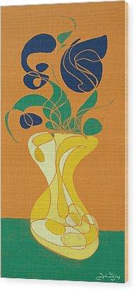 Floral Xxvi Wood Print