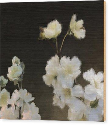 Floral11 Wood Print