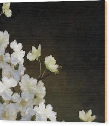 Floral12 Wood Print