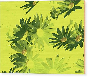 Wood Print featuring the photograph Flores De Primavera by Alfonso Garcia
