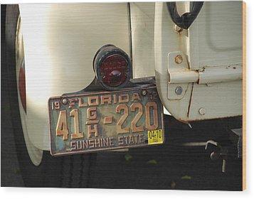 Florida Dodge Wood Print by Rob Hans