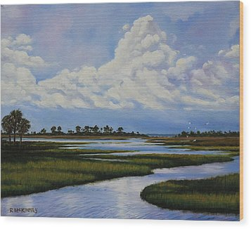 Florida Wood Print by Rick McKinney