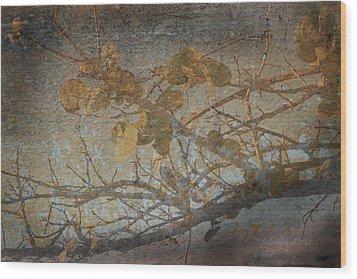 Florida Sea Grape Wood Print by Joseph G Holland