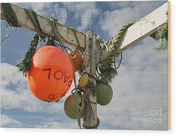 Wood Print featuring the photograph Flotsam And Jetsam by Brian Roscorla