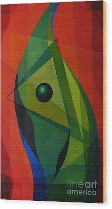 Flow Wood Print by Alberto DAssumpcao