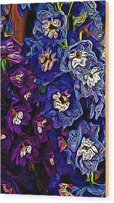 Flower Arrangement II Wood Print by David Lane