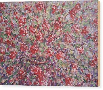 Flower Feelings. Wood Print