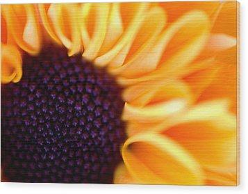 Flower No. 3 Wood Print