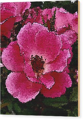 Flower Painting Collection 19 Wood Print
