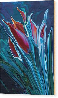 Flower Unknown 2 Wood Print by Rabi Khan