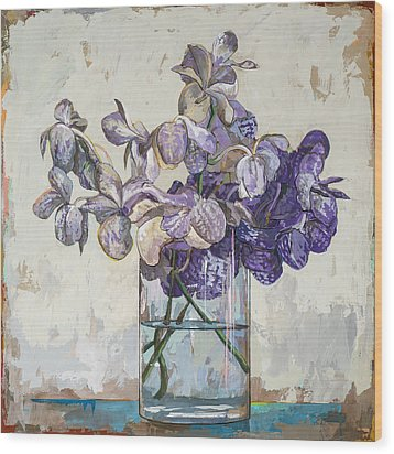 Flowers #1 Wood Print by David Palmer