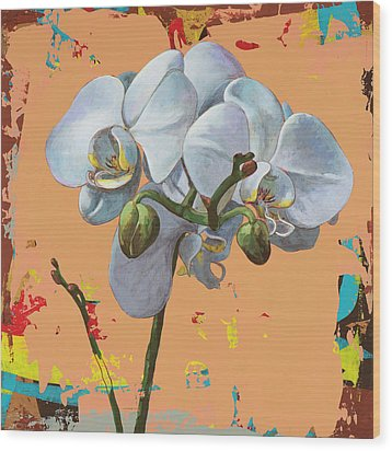 Flowers #12 Wood Print by David Palmer