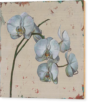 Flowers #13 Wood Print by David Palmer