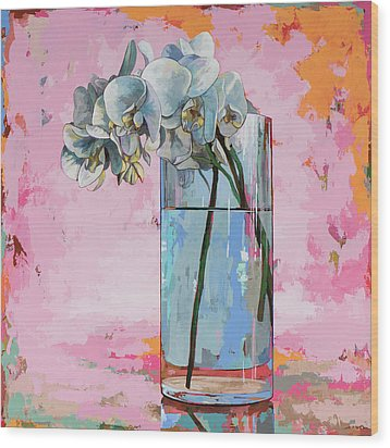 Flowers #17 Wood Print by David Palmer