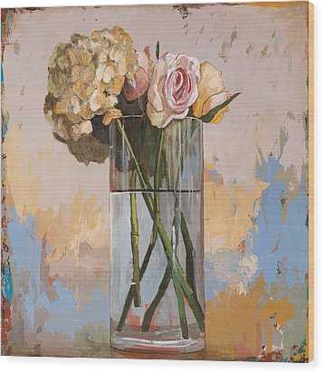 Flowers #2 Wood Print by David Palmer