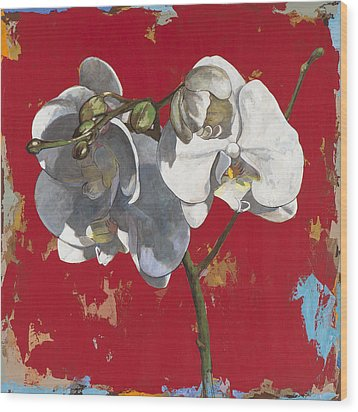 Flowers #6 Wood Print by David Palmer