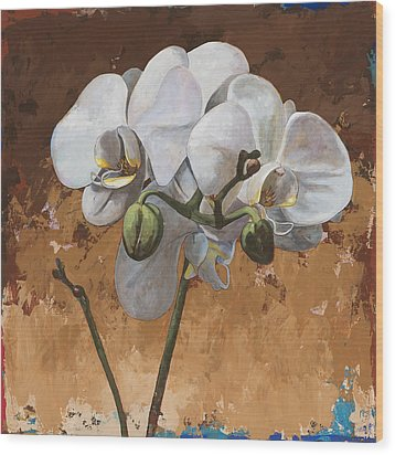 Flowers #7 Wood Print by David Palmer