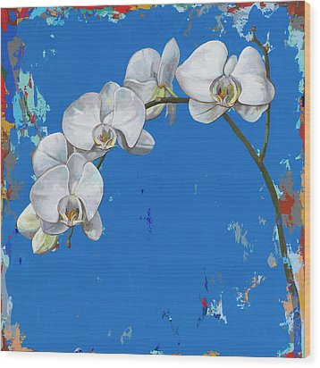 Flowers #9 Wood Print by David Palmer
