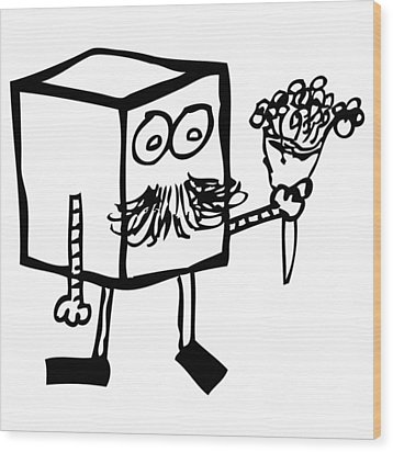 Flowers For You Wood Print by Karl Addison