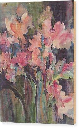 Flowers Of Summer Wood Print