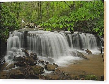 Flowing Easy Wood Print