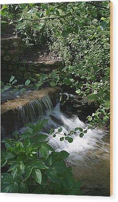 Flows Wood Print by Jez C Self