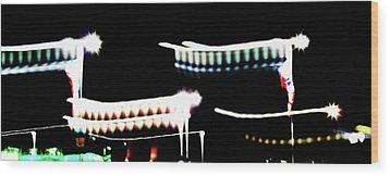 Wood Print featuring the photograph Fly by Cyryn Fyrcyd