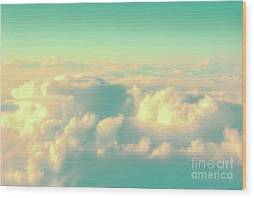 Wood Print featuring the photograph Flying by Delphimages Photo Creations