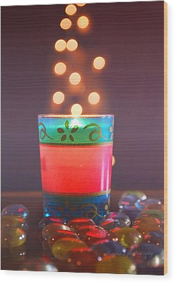 Wood Print featuring the photograph Flying Light by Rima Biswas