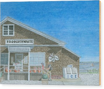 F.o. Goldthwaite Wood Print by Dominic White