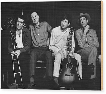 Folk Singers 1964 Wood Print