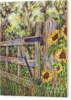 Follow The Sun Wood Print by Winona Steunenberg