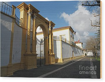 Fonte Bela Palace - Azores Wood Print by Gaspar Avila