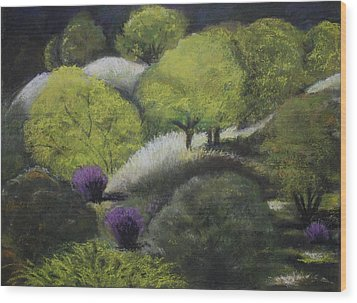 Foothill Spring Wood Print