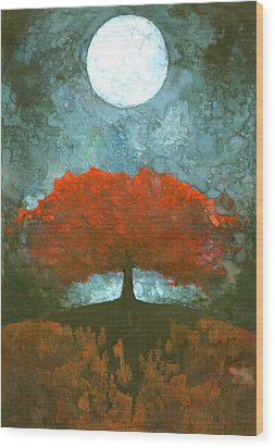 For Ever Wood Print by Wojtek Kowalski