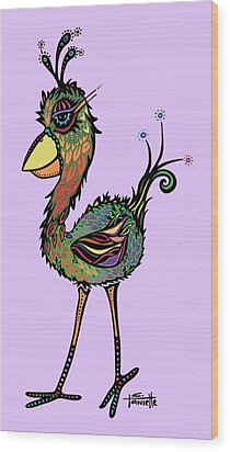 For The Birds Wood Print by Tanielle Childers