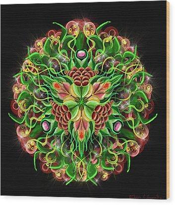 Forbidden Flower Wood Print
