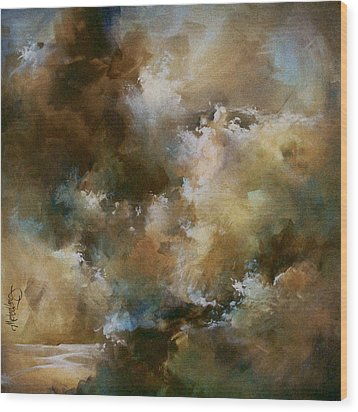 Force Of Nature Wood Print by Michael Lang